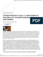 Cell Based Reporter Assays Vs