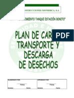 Plan de Manejo y Transporte de Desechos Peligrosos