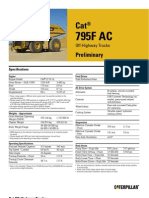 795F - AC Spec Sheet