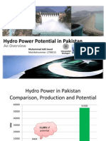 Hydro Power Potential in Pakistan
