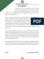 Starbucks Report_Business Research Methodology