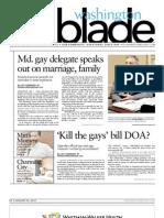 washingtonblade.com - volume 43, issue 3 - january 20, 2012