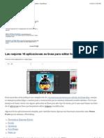 Las mejores 18 aplicaciones en línea para editar fotografías | GeeksRoom