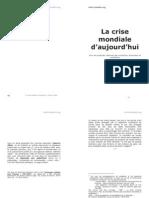 La Crise Mondiale Livre Maurice Allais