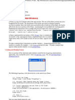 Java - How to Make Frames