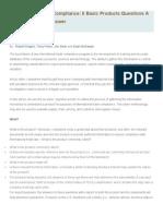 International Trade Compliance (ARTICLE)