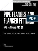 ANSI-ASME B16.5 (1996) - Pipe Flanges and Flanged Fittings