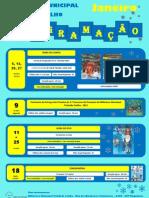 Cartaz Mogadouro Programación Biblioteca Enero 2012