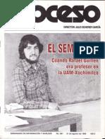 El semillero. Cuando Rafael Guillén era profesor en la UAM-X