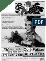 Fanzine Entre Aspas - Jornal de Literatura de Nova Serrana - MG