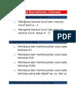 Senarai Kemahiran Program LINUS