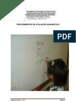 Procedimentos de Avaliação Diagnóstica