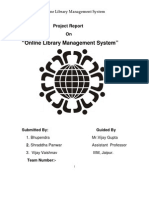 11.Project-Online Library Management System