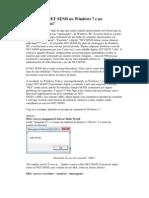 Net Send Windows 7