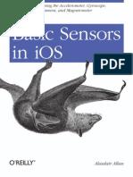 Basic Sensors in iOS (Oreilly-2011-Ed1)
