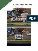 tutorial luces Toyota Corolla Wrc