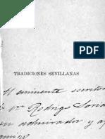 Cano y Cueto, Manuel - Tradiciones Sevillanas - 1 - 1894_bw