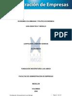 Economía y Política Económica de Colombia