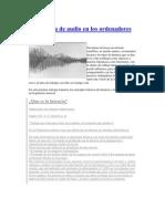 Latencia de Audio en Las Computadoras