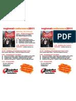 Regional Conference Leaflet