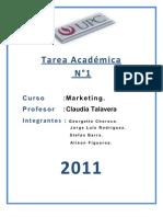Tarea Académica N1 MKT