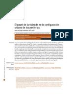CVU V1 N1-01 El papel de la vivienda en la configuración urbana de las periferias