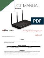 Cradle Point MBR1000 UserManual-V1