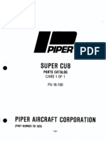 PA-18 150 SuperCub Parts Catalog Complete)