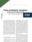 Pour Un Empire Euroeean
