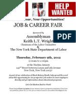 Job and Career Fair Invitation