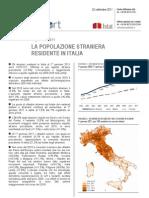 Popolazione Straniera Residente in Italia - 22_set_2011 - Testo Integrale (1)
