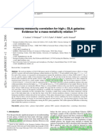 C. Ledoux et al- Velocity-metallicity correlation for high-z DLA galaxies