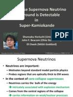 Shunsaku Horiuchi, John F. Beacom and Eli Dwek- The Diffuse Supernova Neutrino Background is Detectable inSuper-Kamiokande