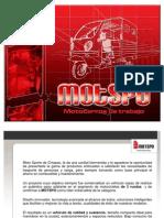 Gama de Productos MOTSPO (2011) King