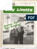 City Limits Magazine, October 1986 Issue