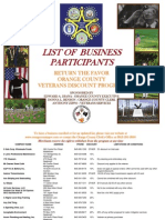 Orange County discounts for veterans