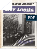 City Limits Magazine, January 1987 Issue
