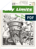City Limits Magazine, March 1987 Issue