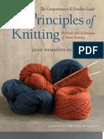 The Principles of Knitting by June Hemmons Hiatt