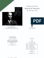 Harold Saxton Burr - Blueprint for Immortality