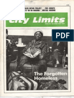 City Limits Magazine, January 1988 Issue