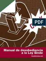 Manual Desobediencia