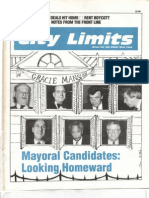 City Limits Magazine, June/July 1989 Issue