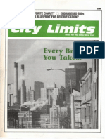 City Limits Magazine, August/September 1989 Issue