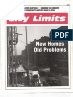 City Limits Magazine, November 1989 Issue