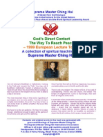 God's Direct Contact - The Way to Reach Peace