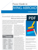 The Expat Focus Guide To Moving Abroad