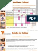 Boletín de Calidad Abril,Mayo,Junio 2011