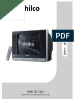 Manual Com Esquema Tv Philco Ph14d
