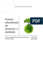 Proiect Educational de Protectie a Mediului
